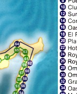 Cancun Map - Cancun Bus Stop Guide on